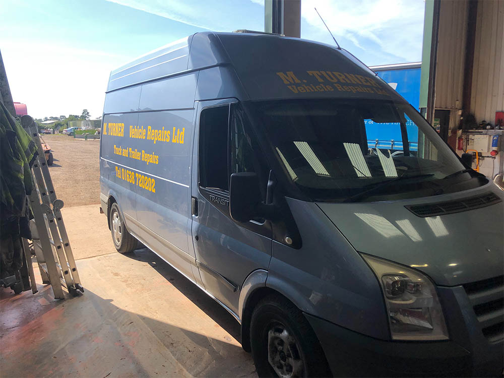 m turner vehicle repair van